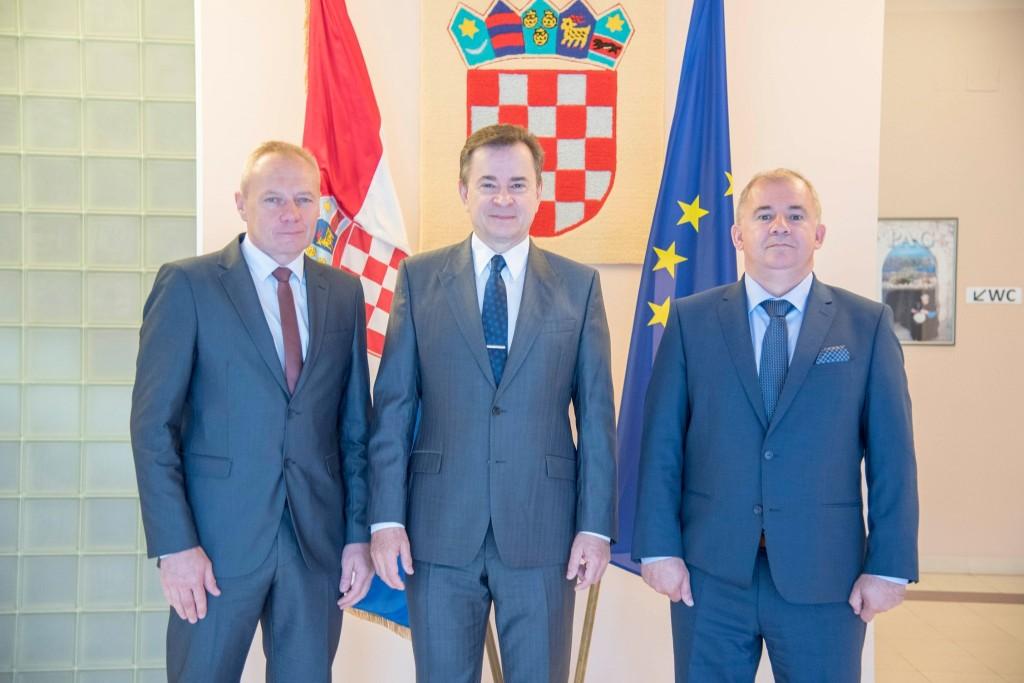 Sastanak izaslanstva Hrvatske zajednice općina i Hrvatskog veleposlanstva u Slovačkoj