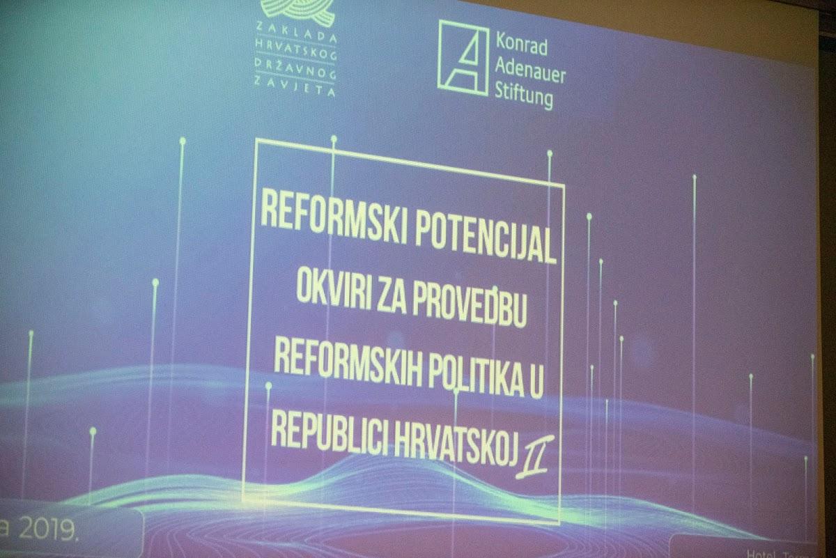"""Konferencija """"Reformski potencijal – okvir za provedbu reformskih politika u Republici Hrvatskoj II"""""""