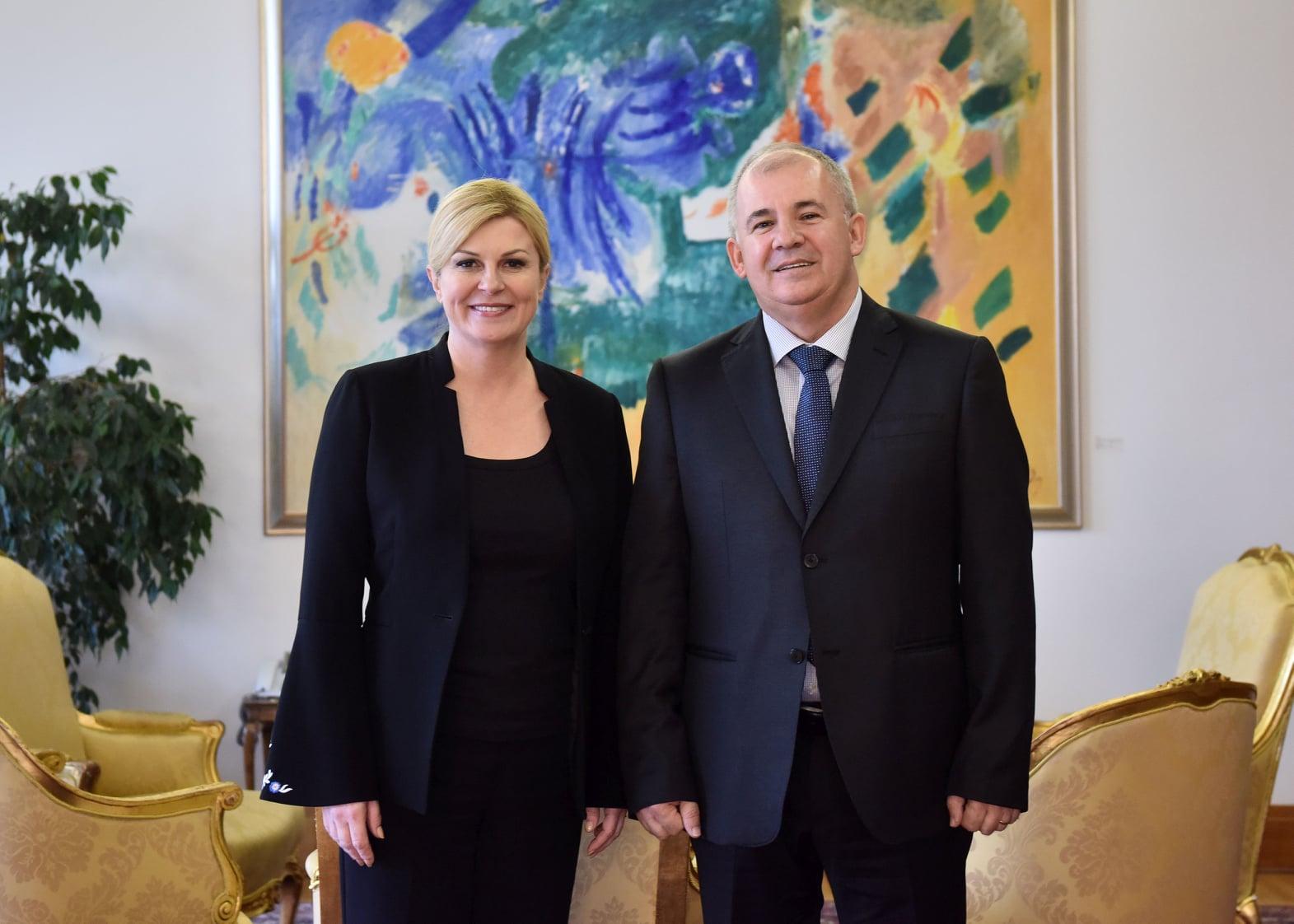Predsjednica Republike primila izaslanstvo Hrvatske zajednice općina