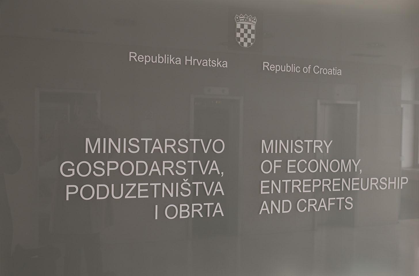 Radni sastanak u Ministarstvu gospodarstva, poduzetništva i obrta