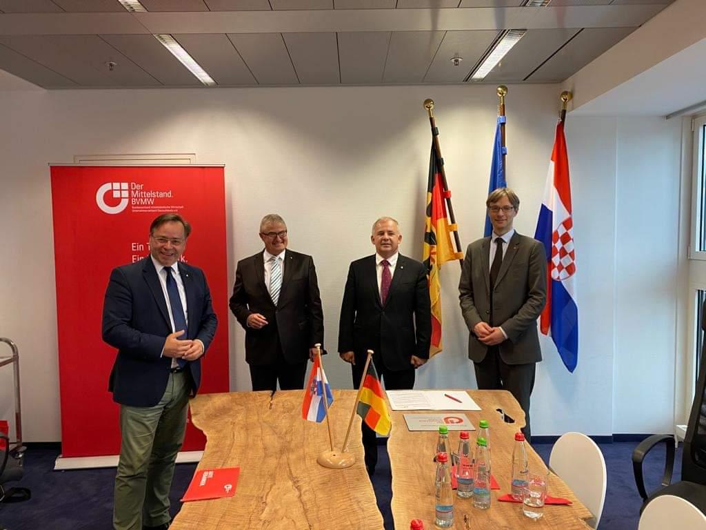 Potpisan sporazum između Hrvatske zajednice općina i njemačke Savezne udruge malih i srednjih poduzetnika